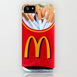 Smoked Fries iPhone Case