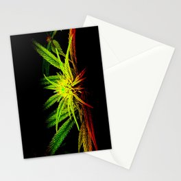 Rasta Plant Glows (The Healing of the Nations) Stationery Cards