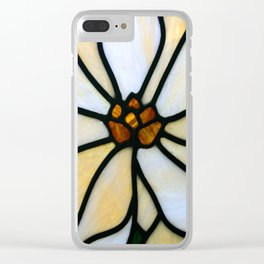 Glass flower Clear iPhone Case