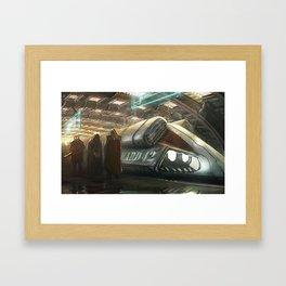 Prisoner Transport Framed Art Print
