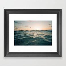Siesta Sun Framed Art Print