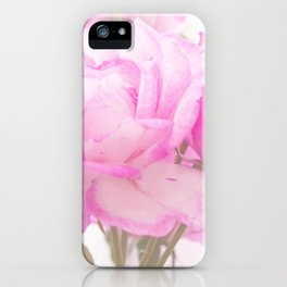 Light Pink Blend Rose #1 #floral #decor #art #society6 iPhone Case