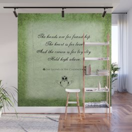 Claddagh ~ Love, Loyality, and Friendship Wall Mural