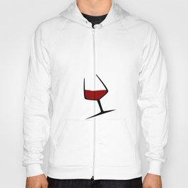 Pouring A Glass Of Wine Hoody