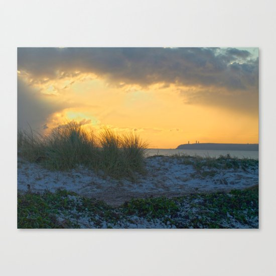 Sand Dunes, Tramore Co. Waterford Canvas Print