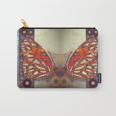 Golden Butterfly Carry-All Pouch