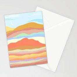warm terrain Stationery Cards