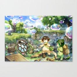 Bubble House Canvas Print