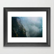 cliffside  Framed Art Print