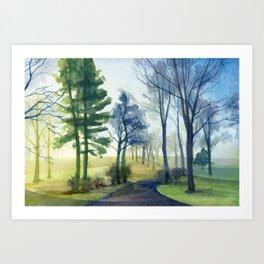 The Farm Art Print