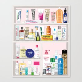 The Cult French Pharmacy Canvas Print