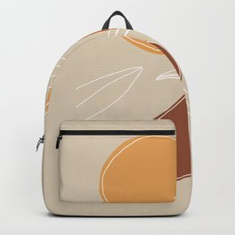 VENDEMMIA SICILIANA - Sicilian Harvest - Modern abstract art Backpack