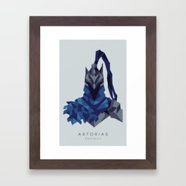 Artorias of the Abyss - Dark Souls Framed Art Print