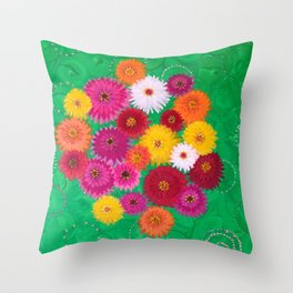 In the name of love: GREEN - Daily Remembrance Throw Pillow