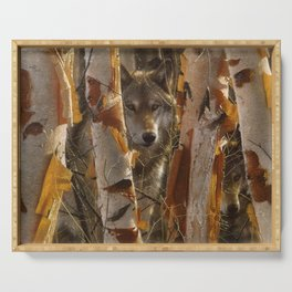 Wolf - The Guardian Serving Tray