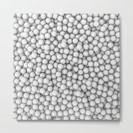 Golf balls Metal Print