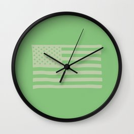 American Flag Hartford Wall Clock