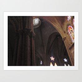La Basílica del Sagrado Voto Nacional, Cuatro Art Print