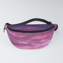 Pink & Purple Sunset Fanny Pack