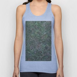grass lawn texturized for background and texture Unisex Tank Top