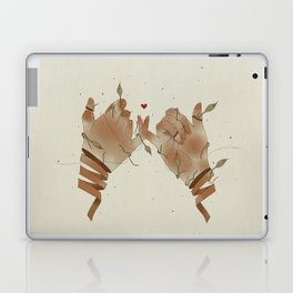 Red String of fate Laptop & iPad Skin