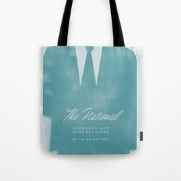 The National - Blue Blazered Tote Bag