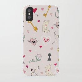 happy valentine iPhone Case