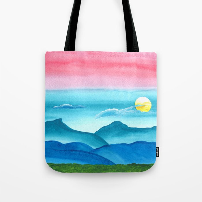 Autumn Moon Festival Tote Bag