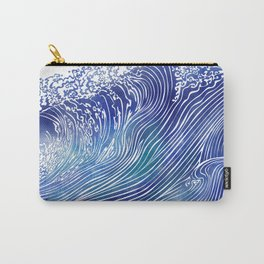 Pacific Waves Carry-All Pouch