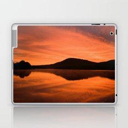 Dawn on Fire: Lac du Saint Sacrement Laptop & iPad Skin