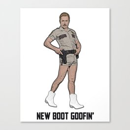 New Boot Goofin' Canvas Print