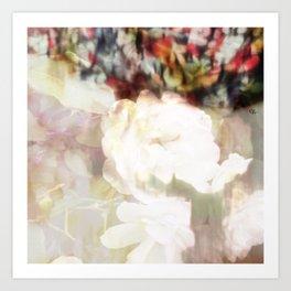 Sleepy Florals I Art Print