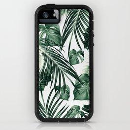 Tropical Jungle Leaves Dream #7 #tropical #decor #art #society6 iPhone Case