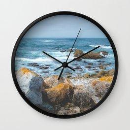 The Restless Sea II - Californian Coast Wall Clock