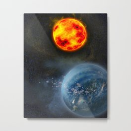 The Other Galaxy Metal Print