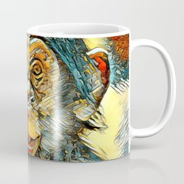 AnimalArt_Chimpanzee_20170602_by_JAMColorsSpecial Coffee Mug
