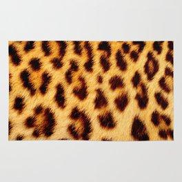 Leopard skin pattern Rug