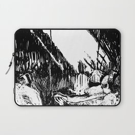 Three Disappear Laptop Sleeve
