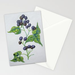 The Ontario Raspberry Stationery Cards