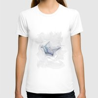 origami T-shirts featuring Origami by Cattina Elettroshock