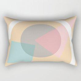 Imperfect Geometries #4 Rectangular Pillow