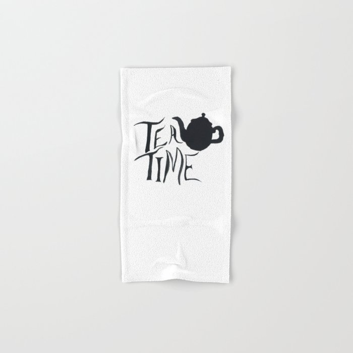 Tea Time Hand & Bath Towel