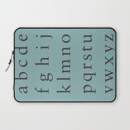 Sabon - Lowercase Laptop Sleeve