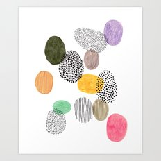 Bolls by Veronique de Jong Art Print