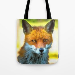 Foxy by Nature Tote Bag