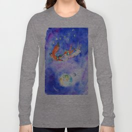 Simon and Chloe - Is there Life Beyond Music? Long Sleeve T-shirt