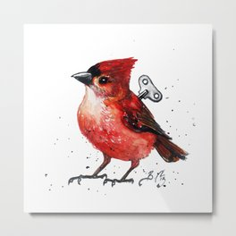 Wind Up Mini XCV Metal Print