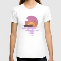 sunset T-shirts featuring Sunset by Moremo