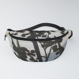 Shadowy rose leaves Fanny Pack