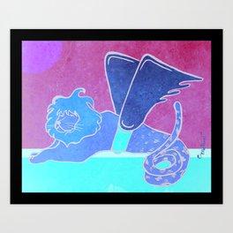 Quimera Art Print